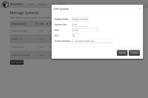 Manage Systems